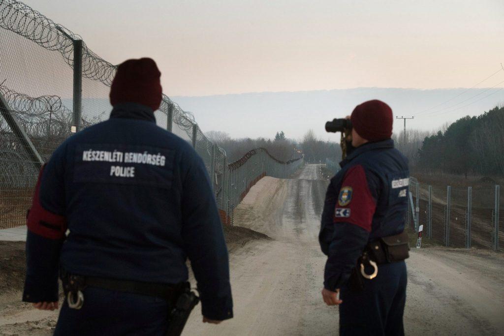 Ungarische Polizei schützt Europas Süd-Grenzen
