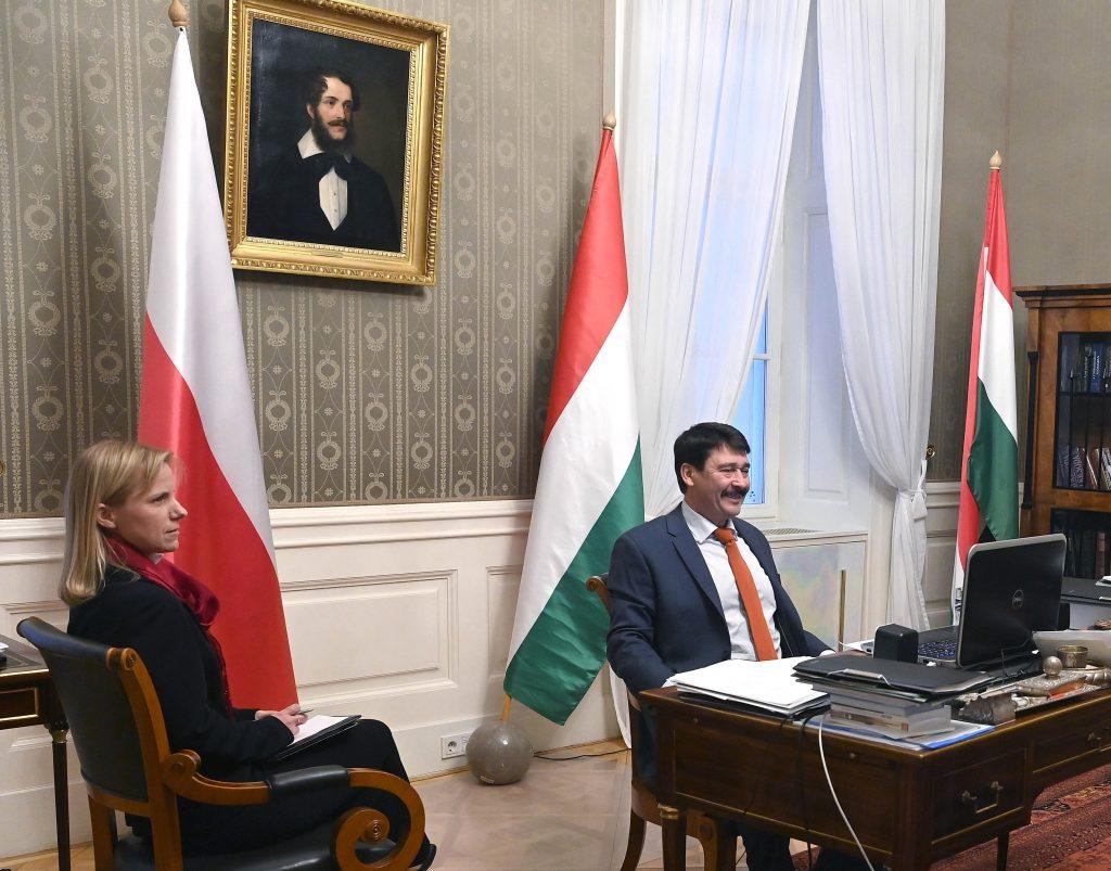 Ungarisch-polnischer Freundschaftstag: polnische Flagge soll vom Parlament aufgehängt werden