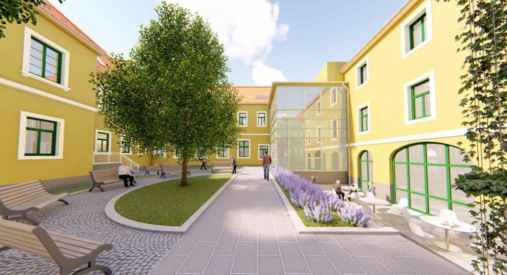 Krankenhäuser werden in Zentralungarn für 250 Milliarden Forint erneuert