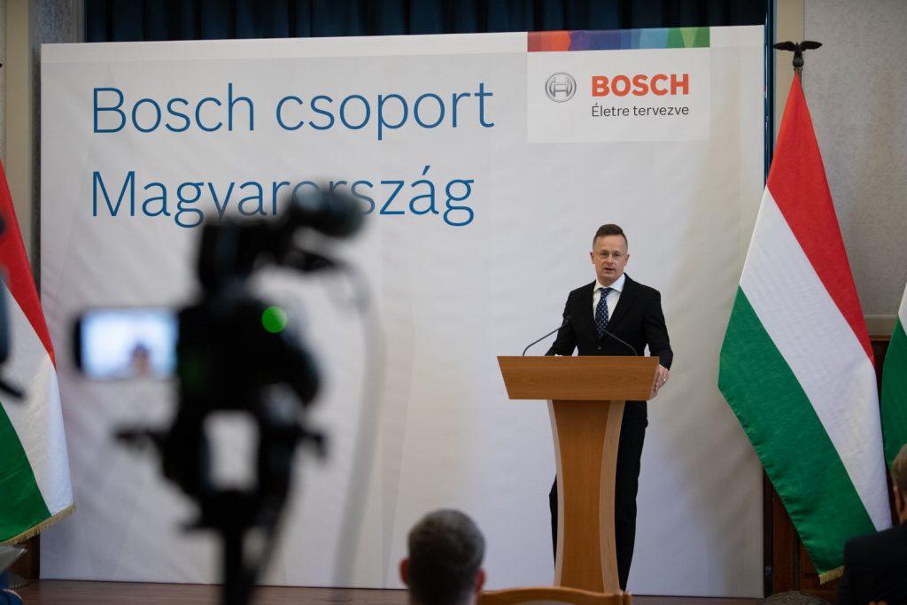 Bosch bildet regionales Servicezentrum in der Nähe von Budapest