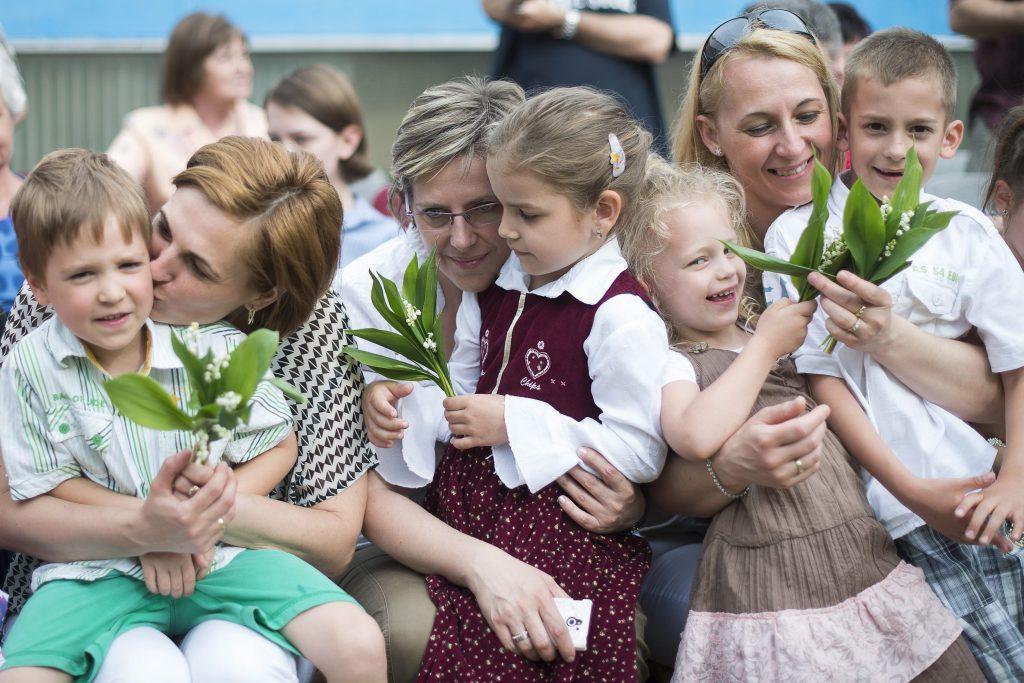 Wir feiern die ungarischen Mütter heute