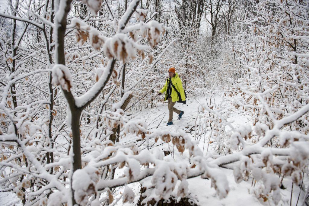 Fotos von Ungarns verschneitem Winterwunderland… im April