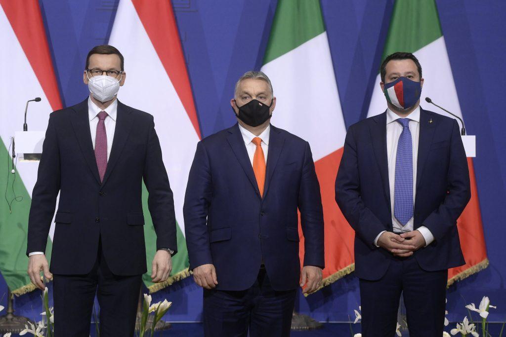 Budapost: Orbán, Salvini und Morawiecki planen ein neues Rechtsbündnis