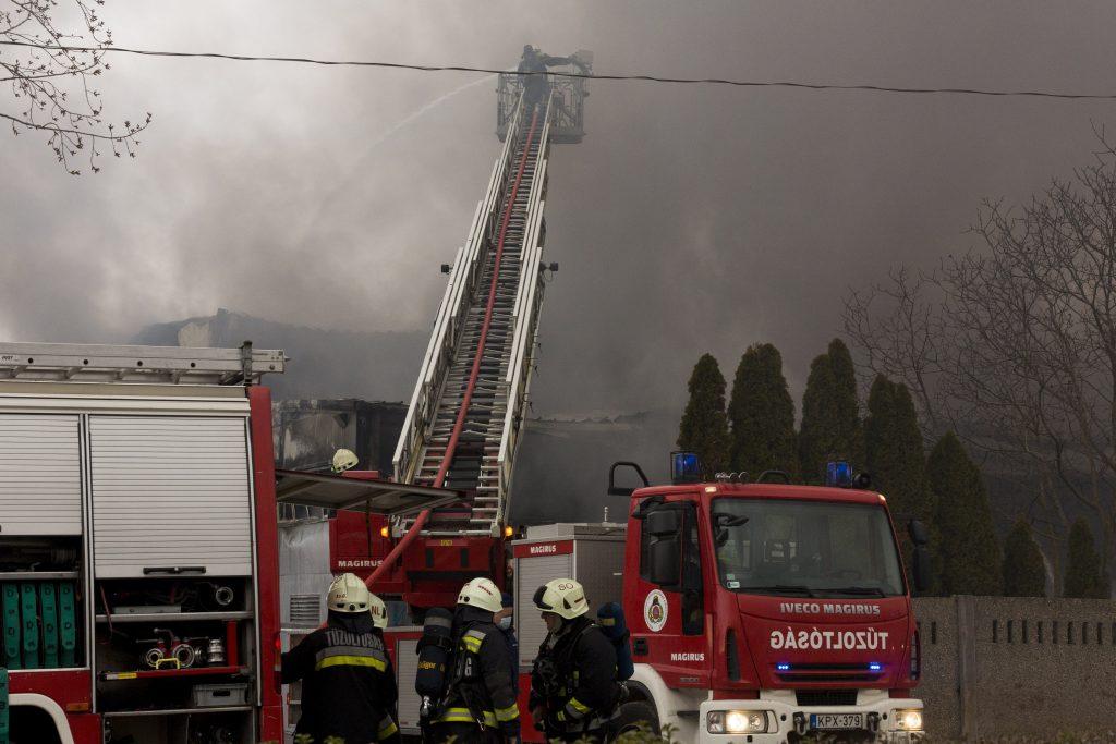 Feuer auf der COVID-Station, es gibt keine Verletzte