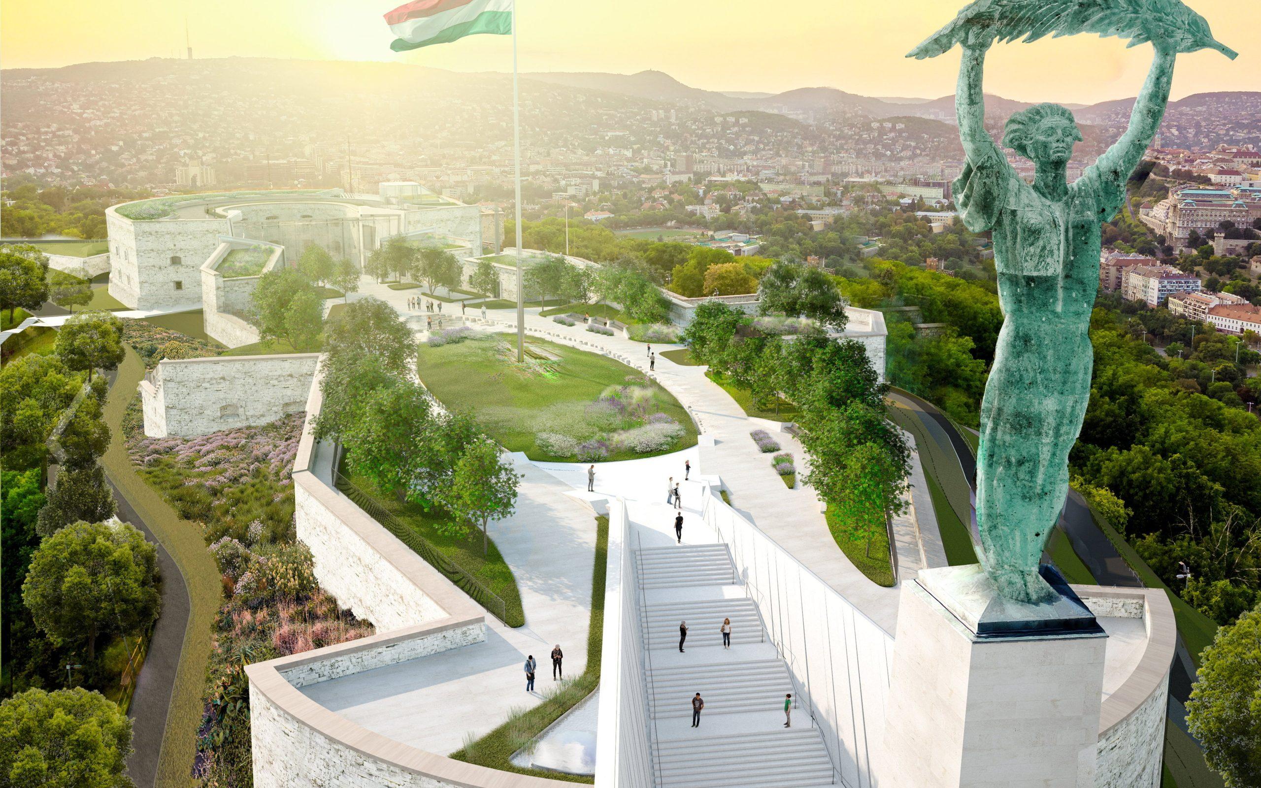 Renovierung der Zitadelle Budapest: Hier ist die Visualisierung der Planungen!