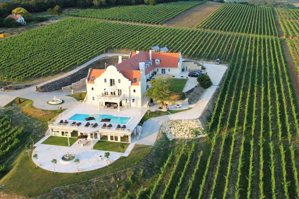 Teuerstes Weingut Ungarns für 2 Milliarden Forint zu verkaufen