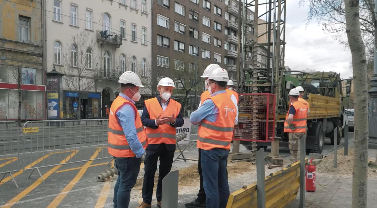 Bau einer neuen U-Bahn-Linie beginnt in Budapest
