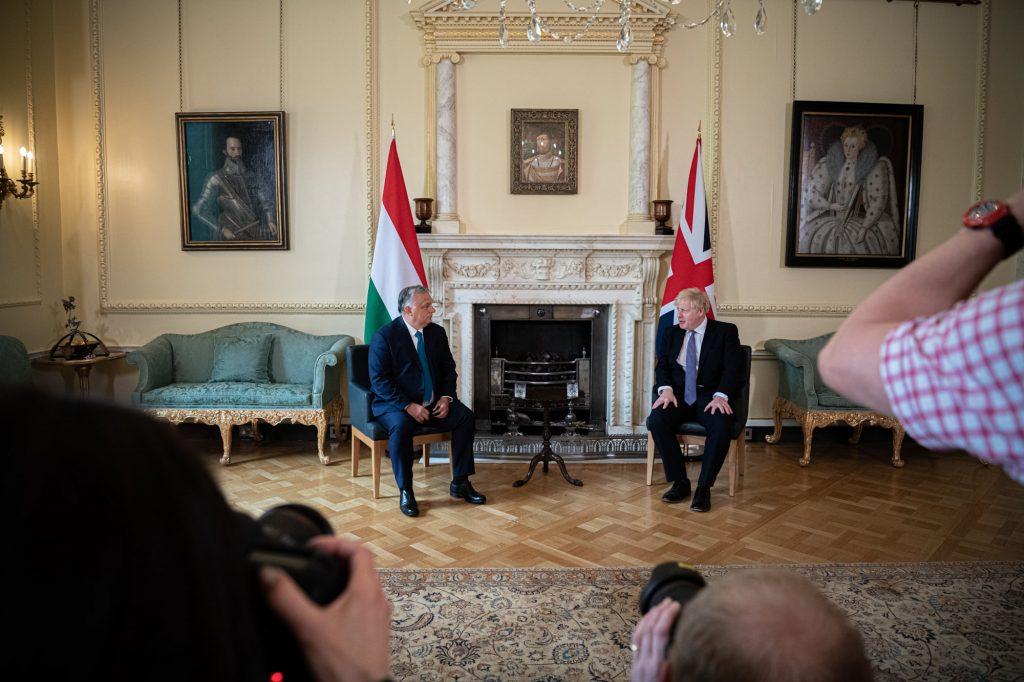 Budapost: Ein einsamer (freundlicher) Kommentar zu Orbáns London-Visite post's picture