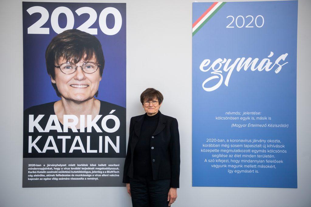 """""""Person des Jahres Preis"""" der öffentlichen Medien an Biochemikerin Karikó überreicht post's picture"""