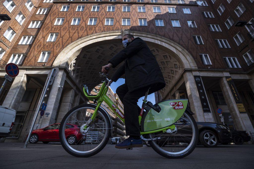 MOL Bubi Bike-Sharing wieder in Betrieb post's picture