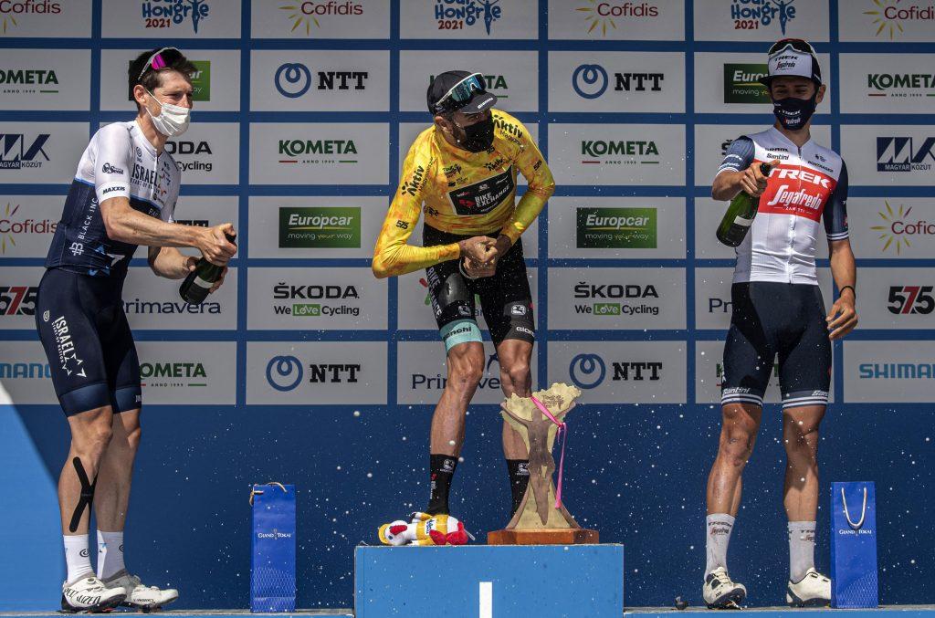 "Australischer Radfahrer gewinnt ""Tour de Hongrie"" post's picture"