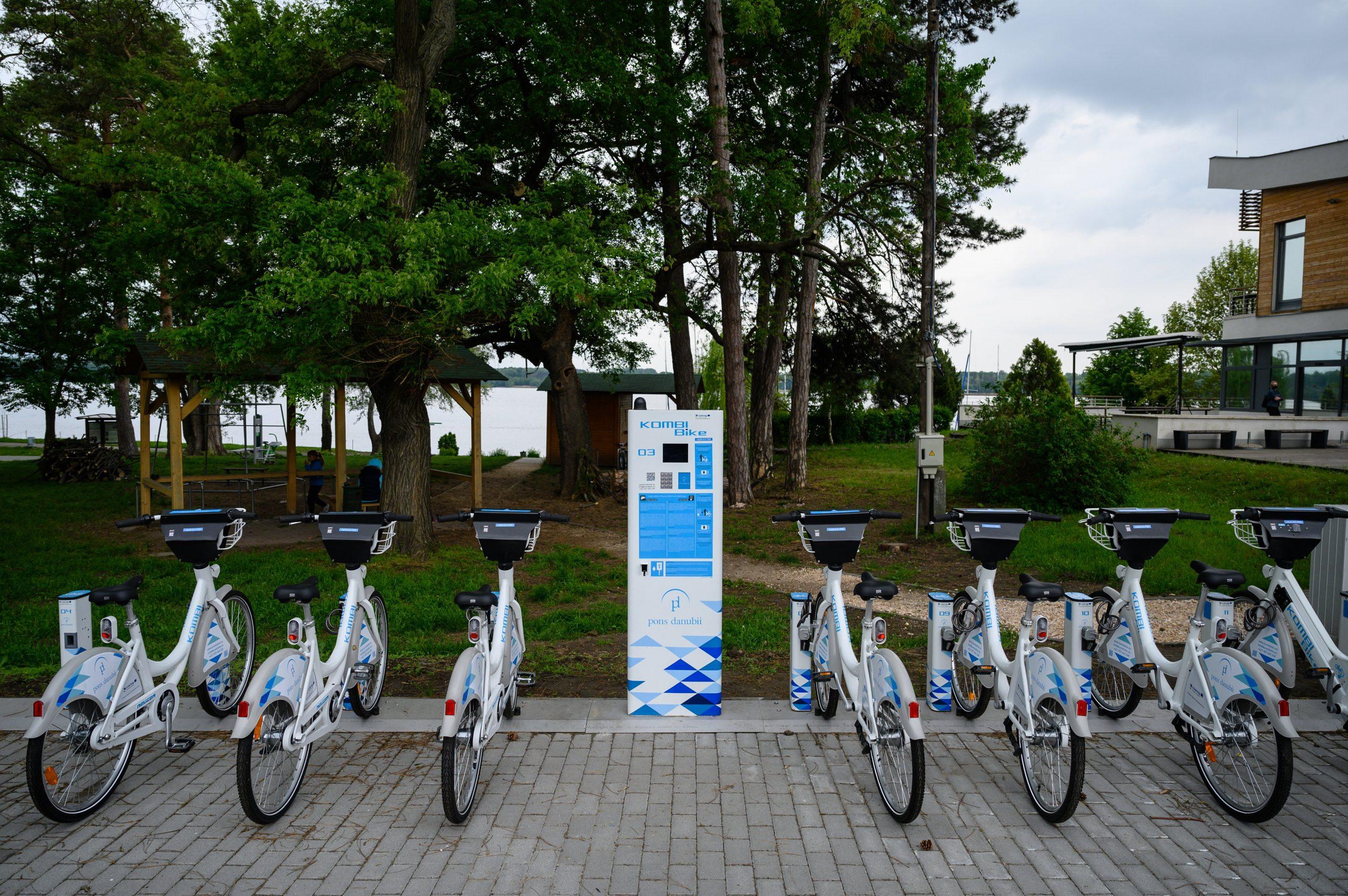 Grenzüberschreitendes Bike-Sharing-System zwischen Ungarn und der Slowakei eingeführt