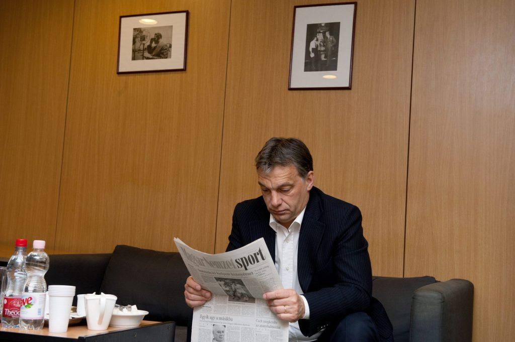 """Orbán: """"Ungarns staatliches Fernsehen ist weniger regierungsfreundlich als das Deutsche"""""""