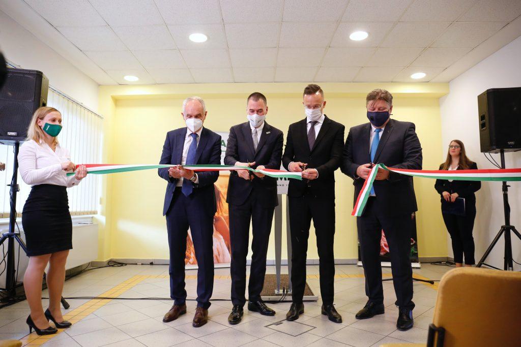 Lebensmittelverarbeitungswerk in Südungarn eingeweiht post's picture