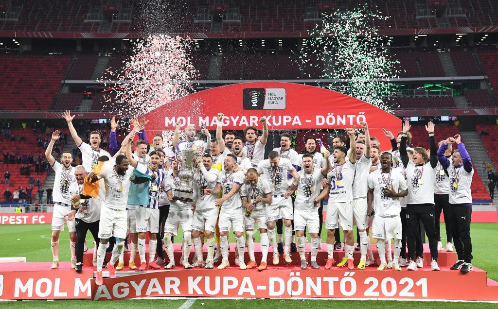 Újpest gewann den ungarischen Pokal erst nach Verlängerung