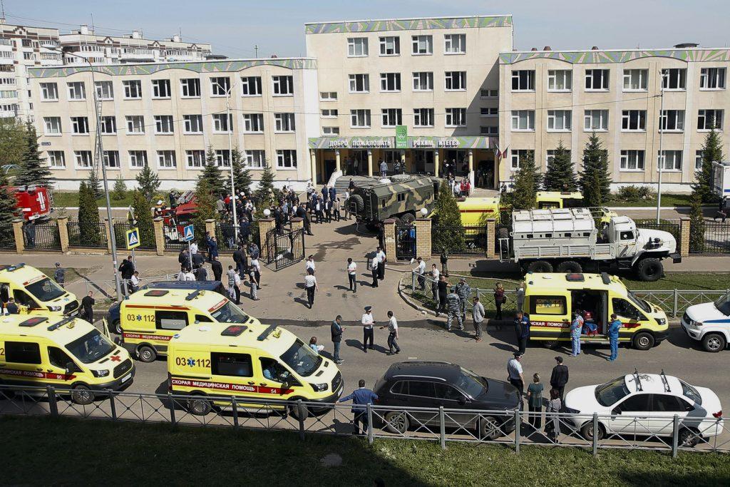 Schießerei in einer Schule in Kasan: Orbán sendet Beileid post's picture