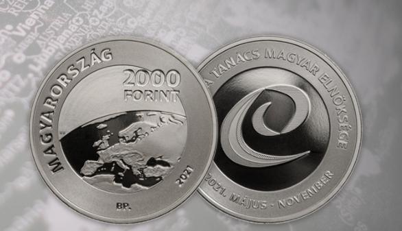 Ungarn gedenkt der CoE-Präsidentschaft mit Münze und Briefmarke