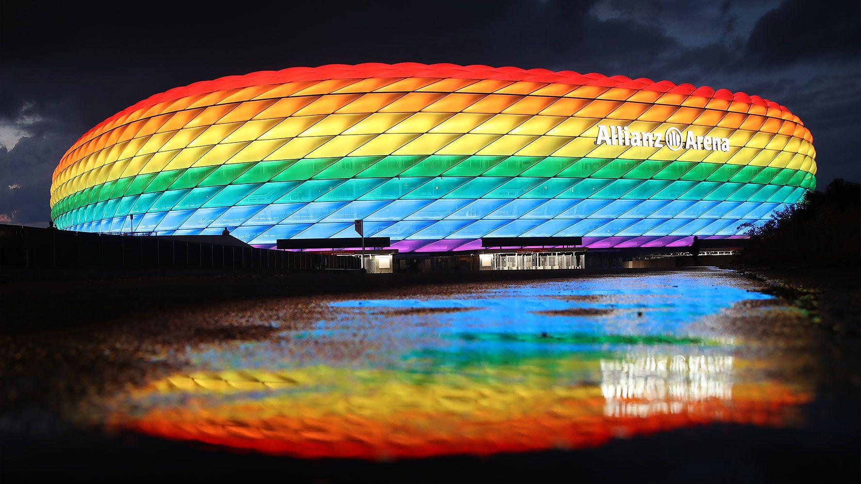 BUDAPOST: Streit um Regenbogensymbolik bei der EURO 2020