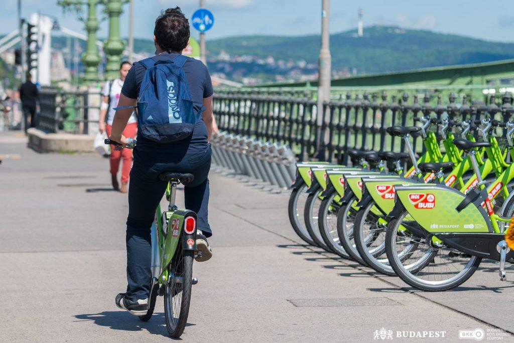 MOL Bubi Bike-Sharing bricht neuen Rekord post's picture
