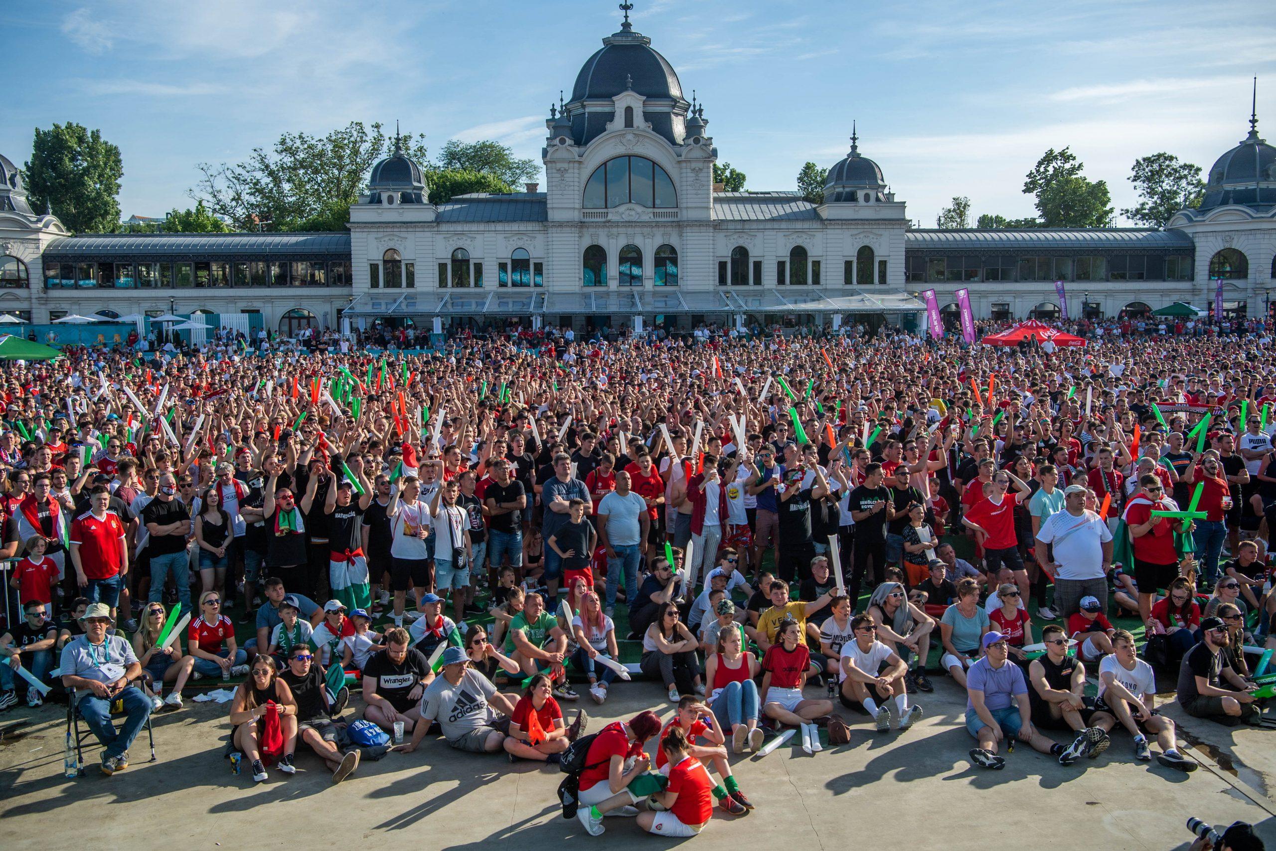 EURO 2020: Fußballfest in Budapest – Fotos und Video!