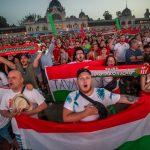 So haben die ungarischen Fans ihre Mannschaft unterstützt – Fotos!
