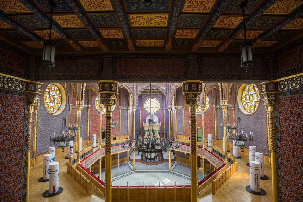 Synagoge in der Rumbachstraße nach Umbau eröffnet– FOTOS! post's picture
