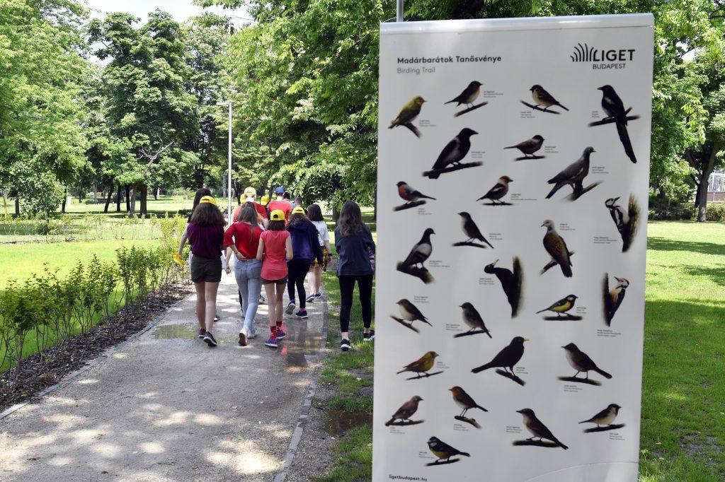 Lehrpfad der Vogelliebhaber im Stadtpark eingeweiht post's picture