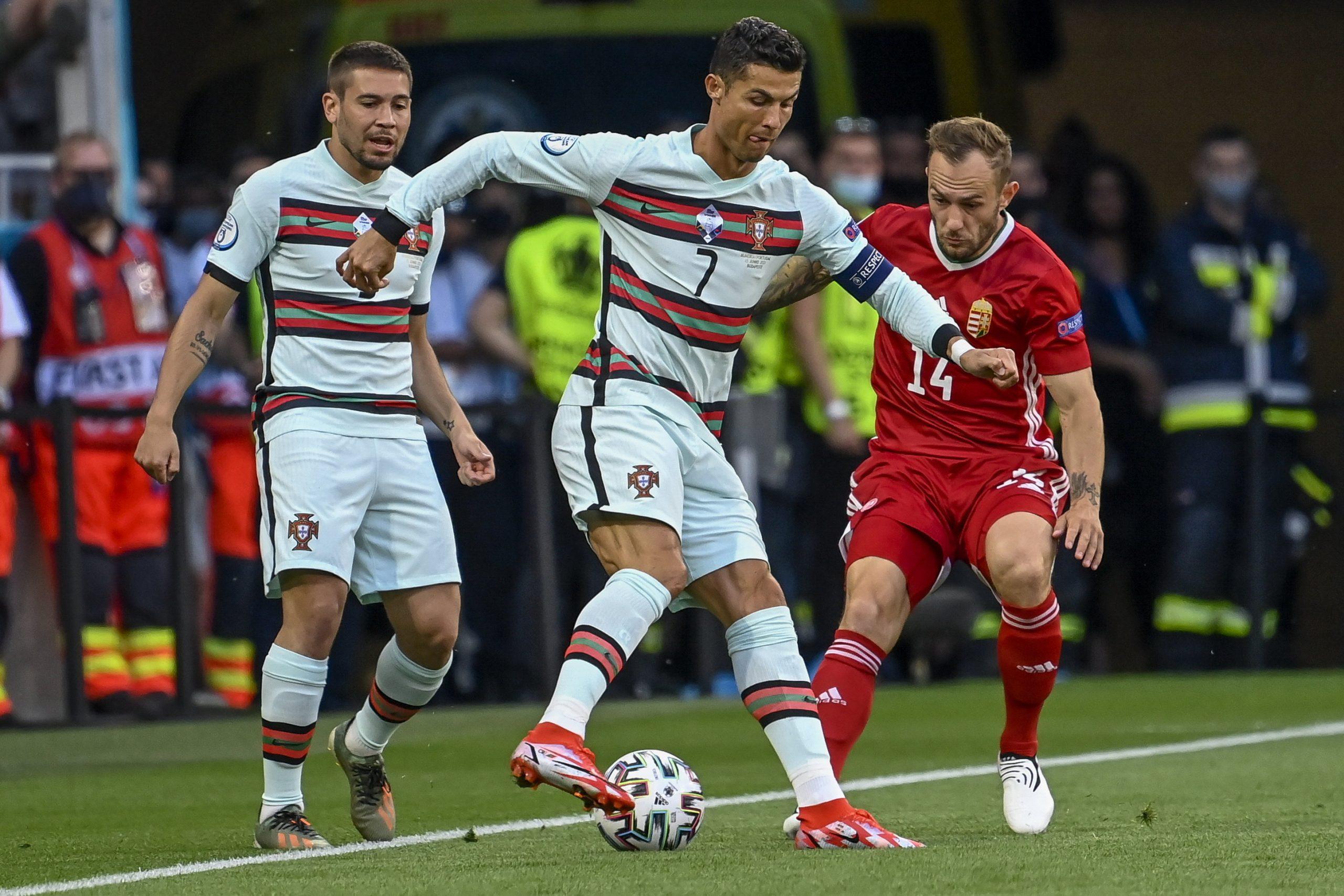 Der Traum dauerte 84 Minuten: Ungarn unterlag Titelverteidiger Portugal 0-3