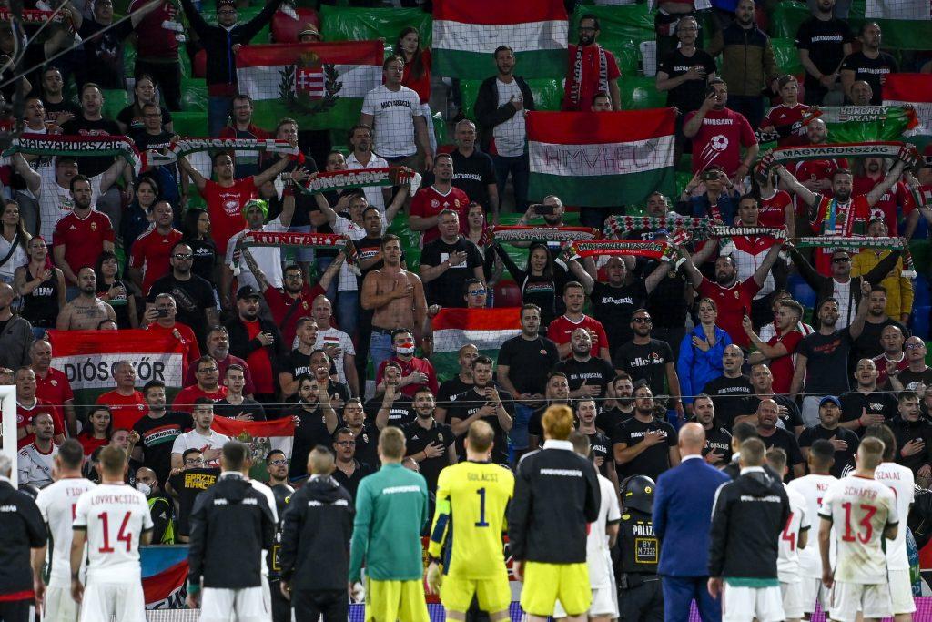 EURO 2020: Staatsanwaltschaft München beschuldigt ungarische Fans des Hitlergrußes und der Bewerfung von Polizisten post's picture