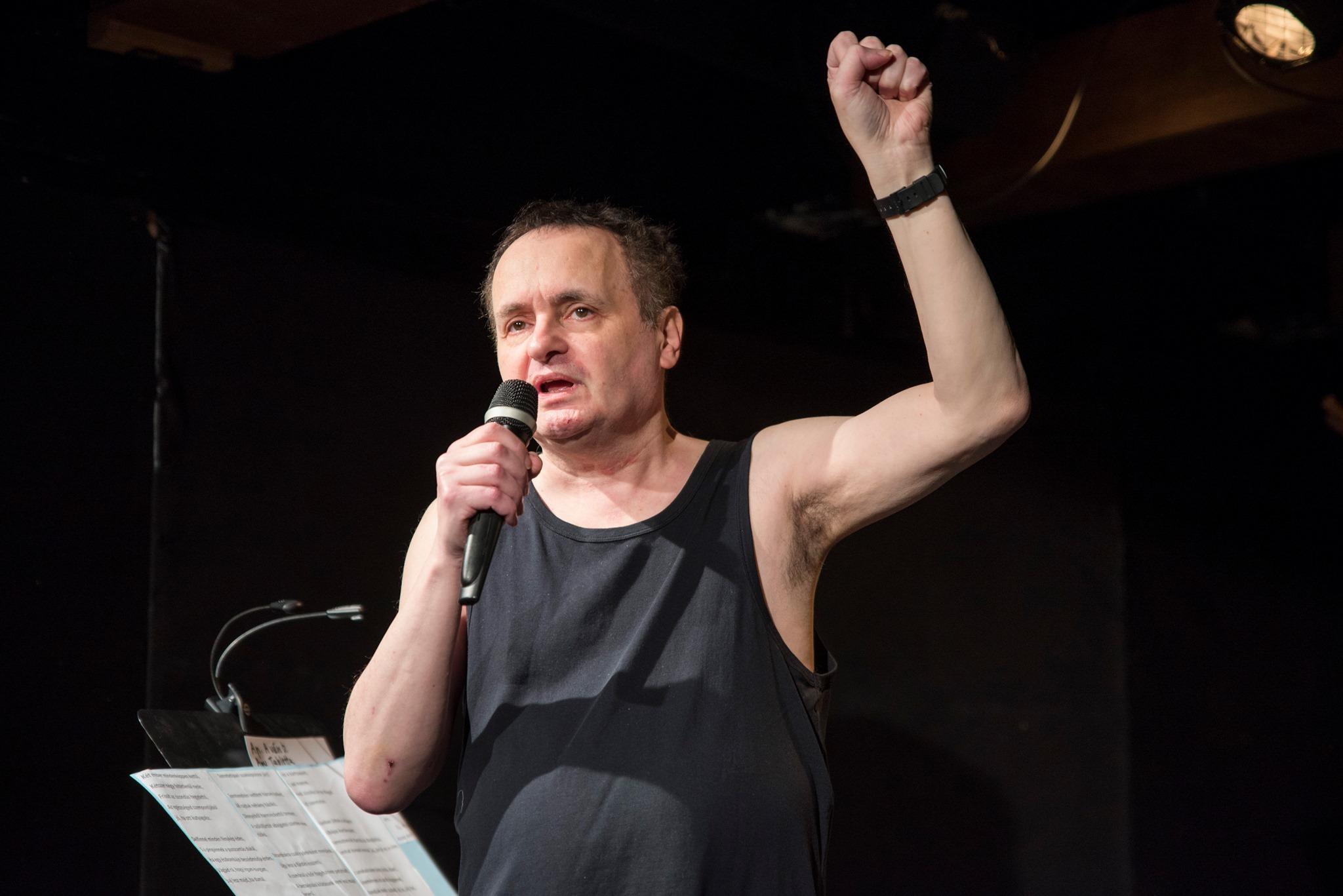 Karinthy-Ring Auszeichnung wird von Humorist Miklós Galla zurückgezogen