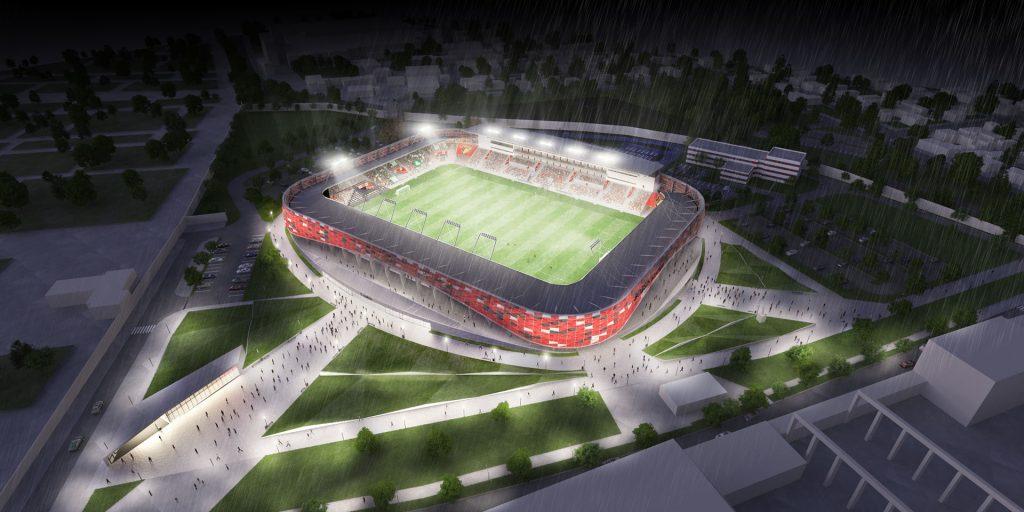 Budapester Bozsik-Arena eröffnet mit Honvéd-Villarreal-Freundschaftsspiel post's picture