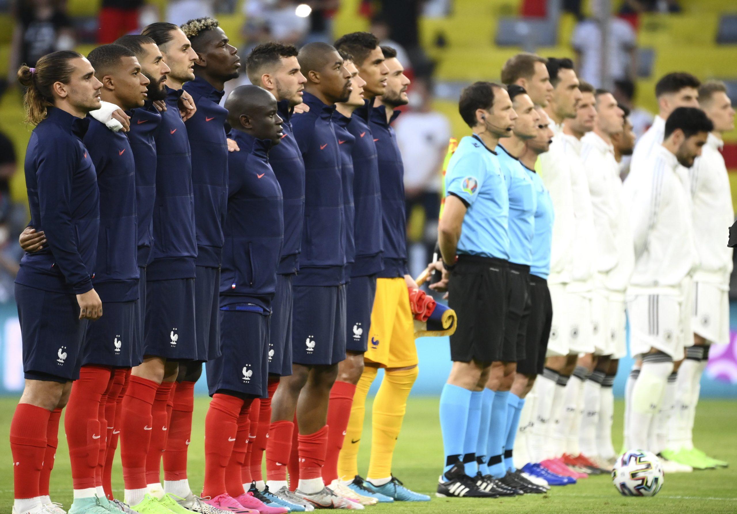 EURO 2020: Französische Mannschaft in Budapest angekommen