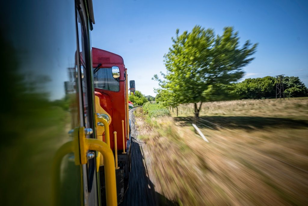Alte Strecke der Schmalspurbahn Balatonfenyves nach 20 Jahren wiederbelebt post's picture