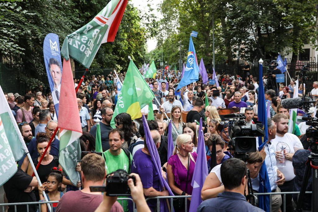 Demo gegen Pegasus-Fall: Opposition fordert die Regierung zum Rücktritt auf post's picture
