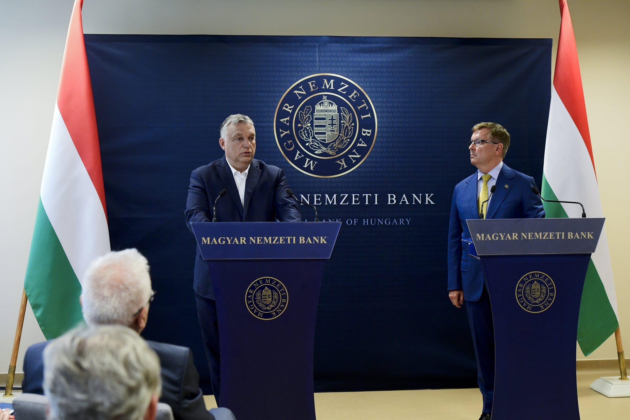 Orbán: Wegen bevorstehenden gefährlichen Zeiten sind Reserven, Deckung und Sicherheit notwendig