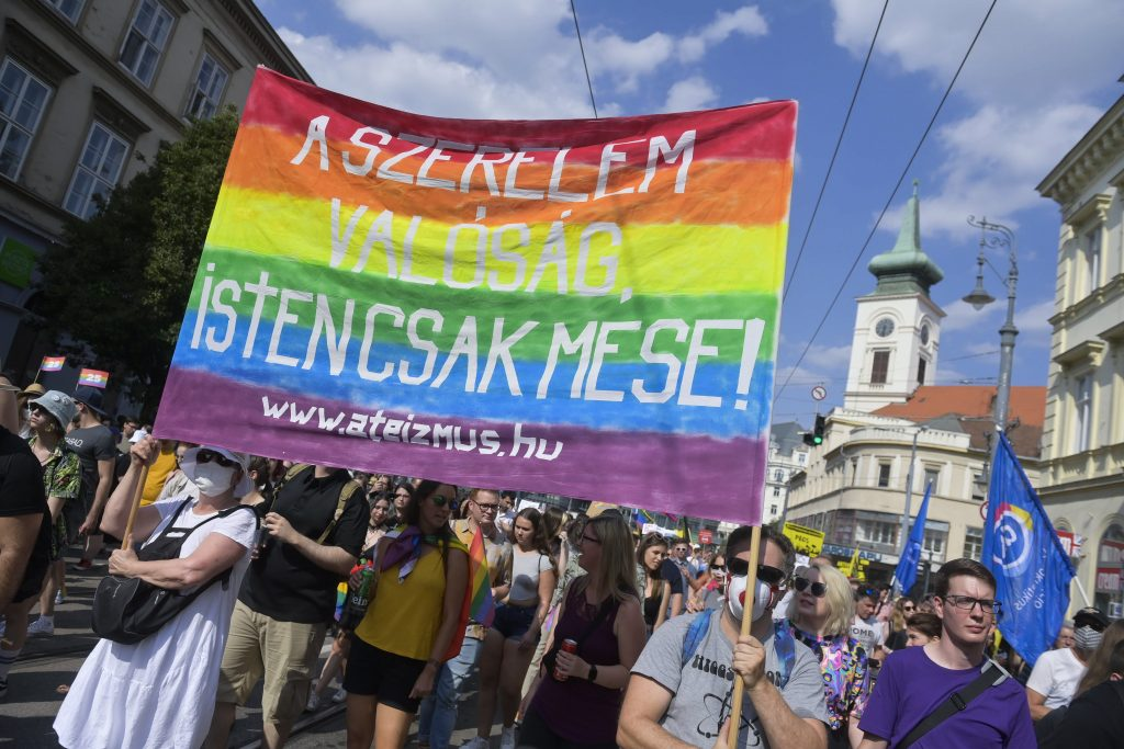 Tausende bei Pride-Parade in Budapest post's picture