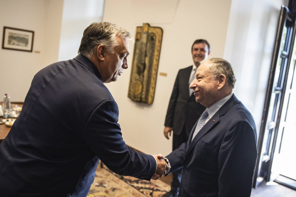 Orbán trifft Chef des Internationalen Automobilverbandes post's picture