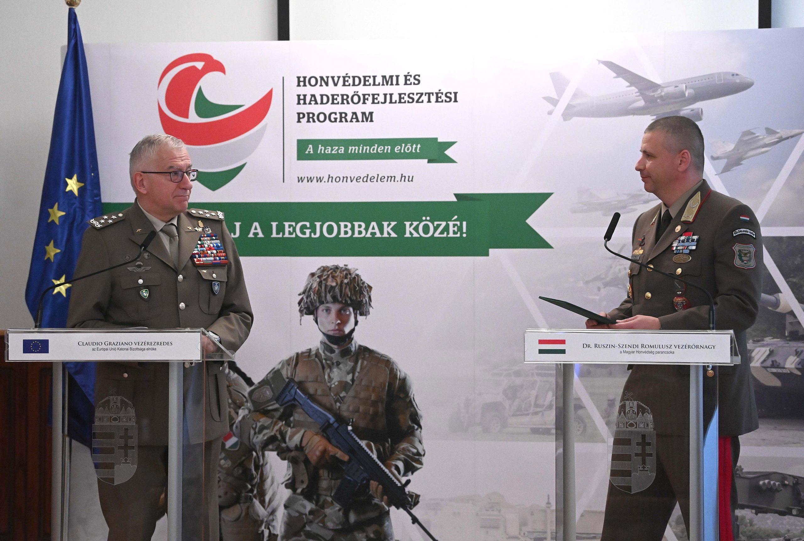 Armeechef: Ungarns Militär steht für die Erfüllung der EU- sowie NATO-Pflichten