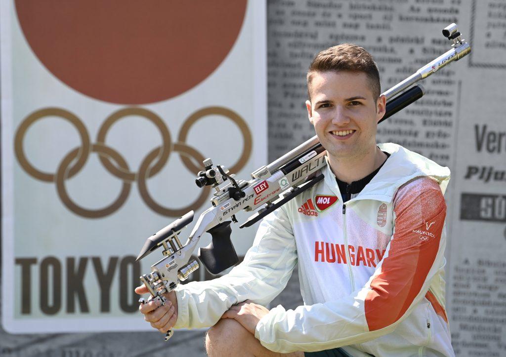 Tokio 2020: Sportschütze István Péni hat für mehrere Medaillen eine Chance post's picture