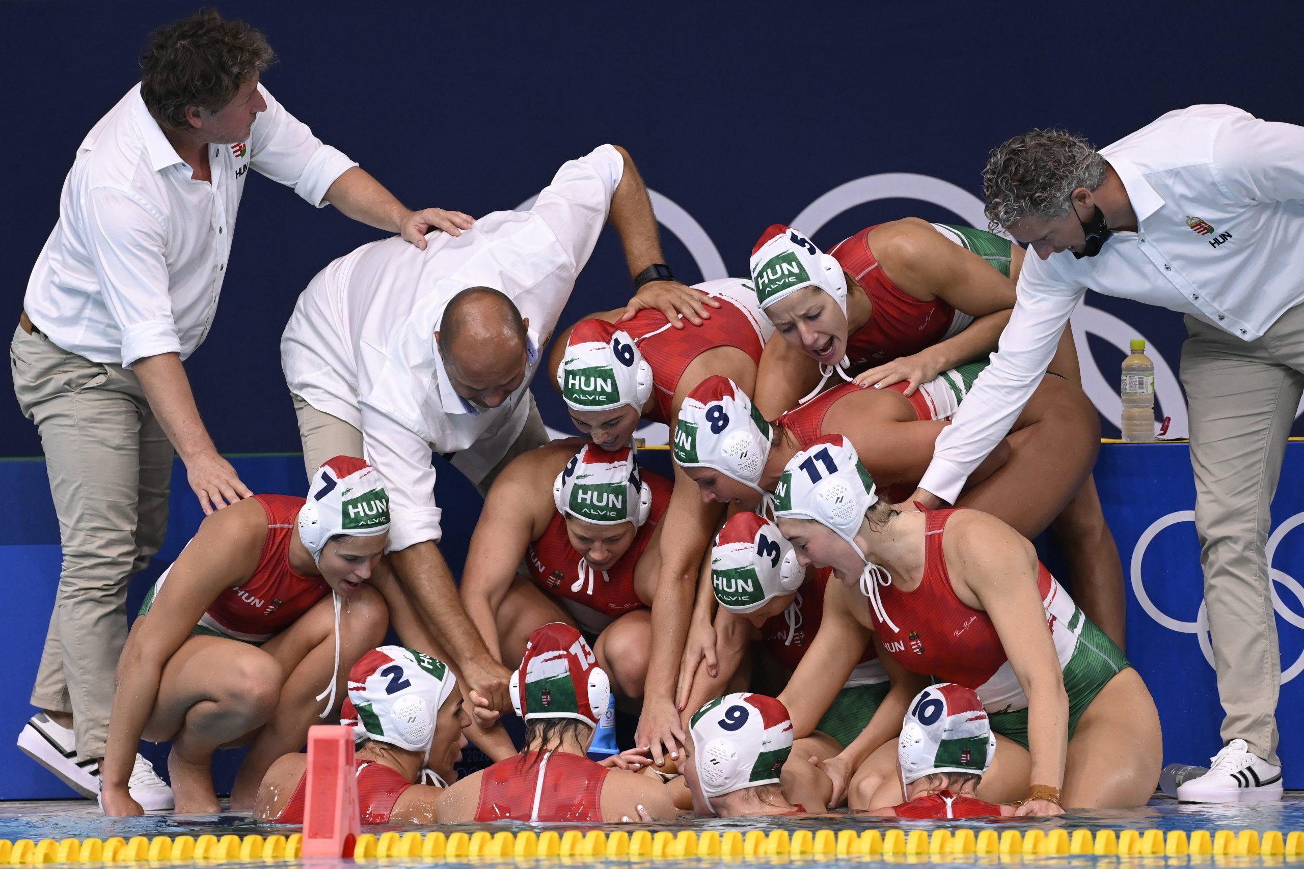 Tokio 2020: Ungarische Wasserballerinnen schlagen weltbeste USA