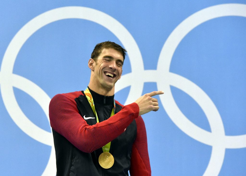 Tokio 2020: Michael Phelps gratuliert Kristóf Milák post's picture