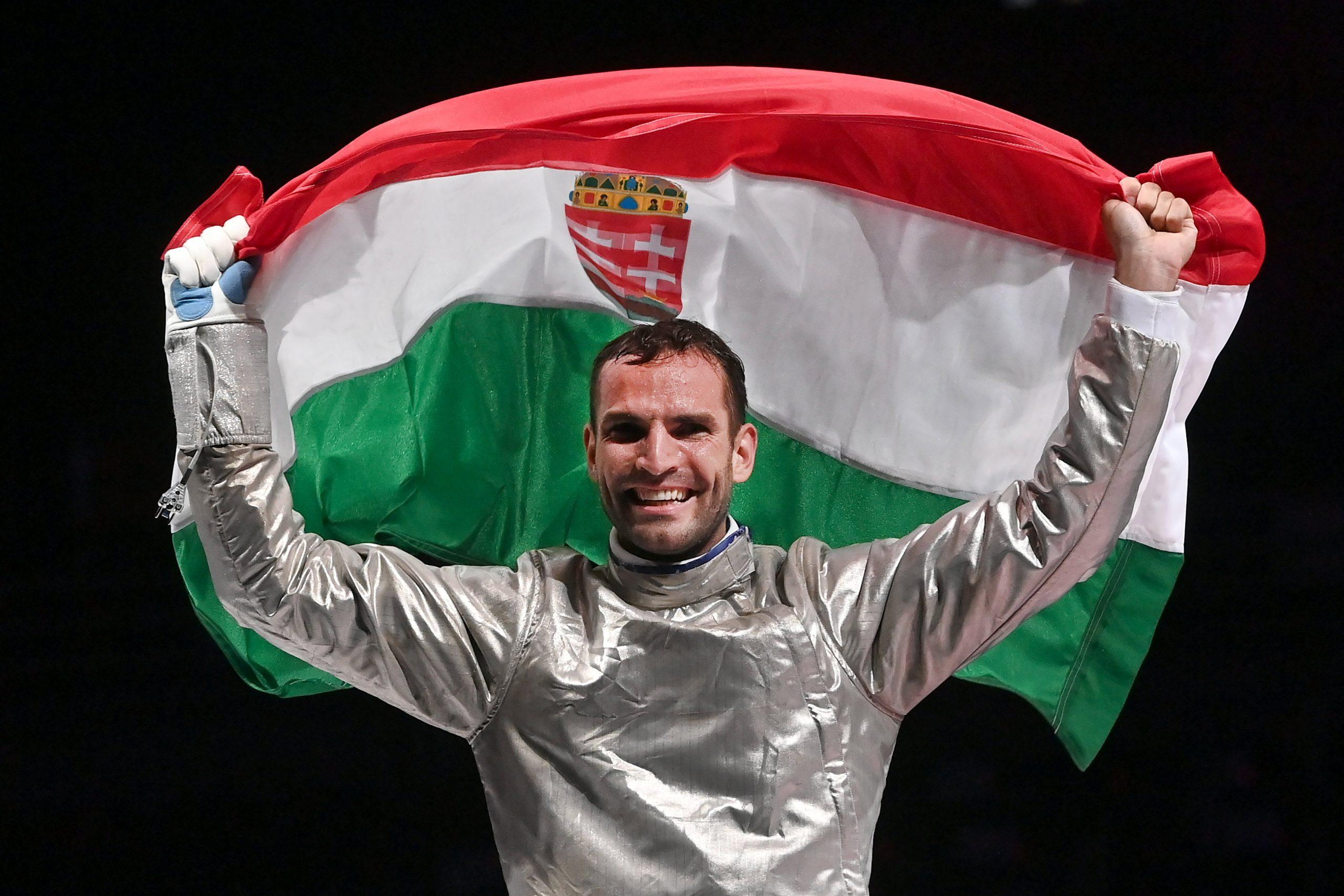 Áron Szilágyi zum dritten Mal in Folge Olympiasieger!