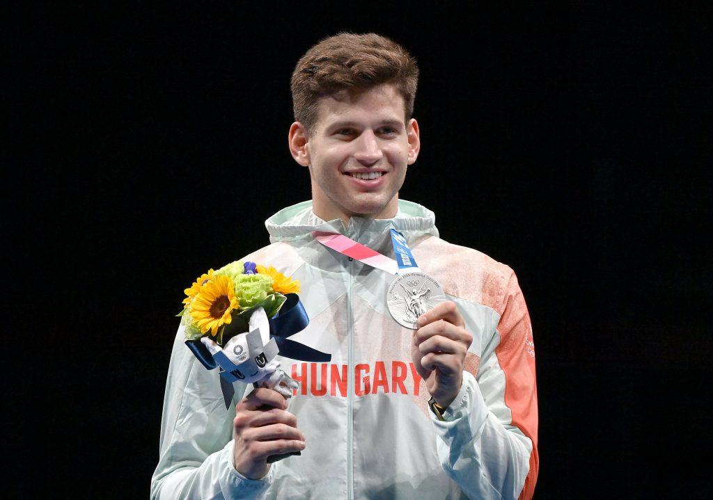 Zweite ungarische Medaille in Tokio: Gergely Siklósi gewinnt Silber im Degenfechten! post's picture