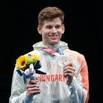 Zweite ungarische Medaille in Tokio: Gergely Siklósi gewinnt Silber im Degenfechten!