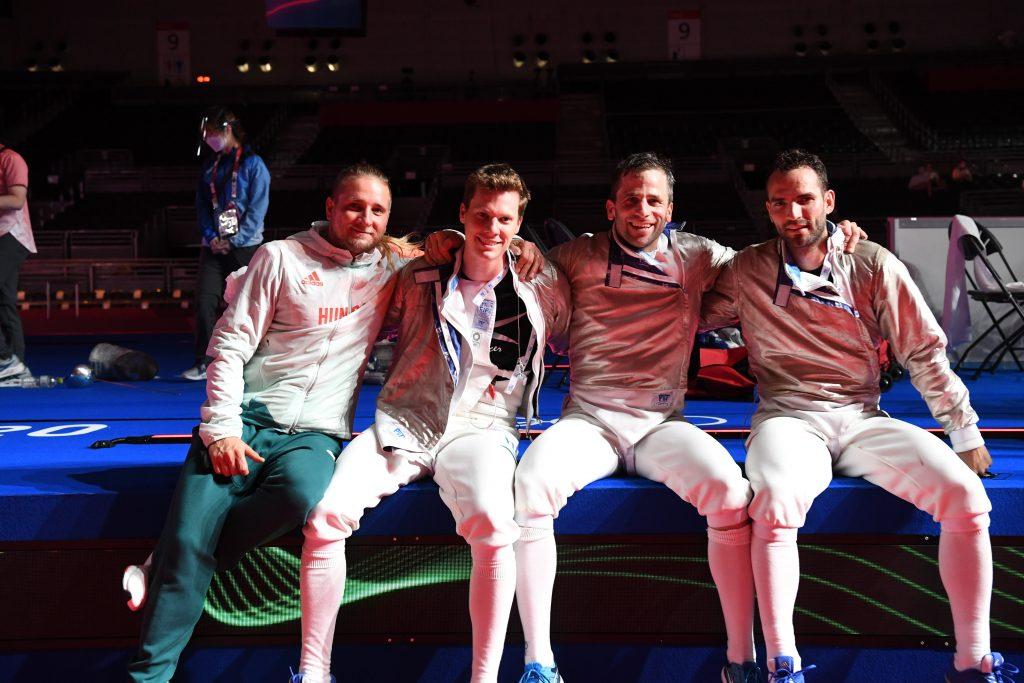 Ungarns Säbelfecht-Team gewinnt Bronzemedaille gegen die Deutschen! post's picture