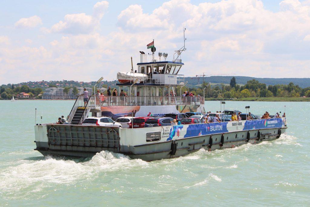 Fähren am Plattensee haben dieses Jahr bereits 1 Million Menschen transportiert post's picture