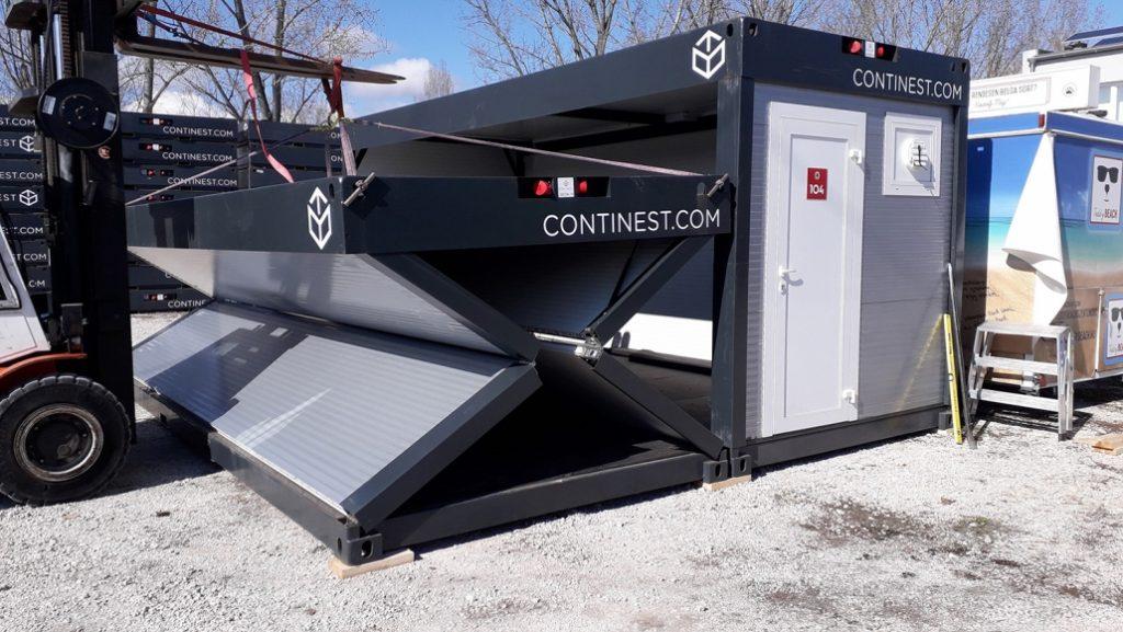 Continest Technologies: 2.200 Container pro Jahr in Ungarn hergestellt post's picture