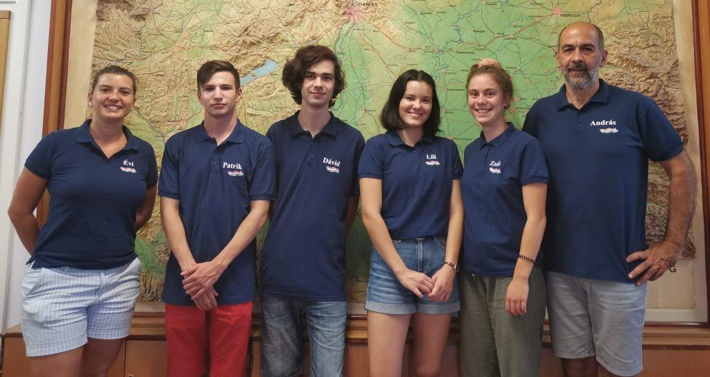 Ungarische Schüler gewinnen drei Medaillen bei der Geographie-Olympiade post's picture