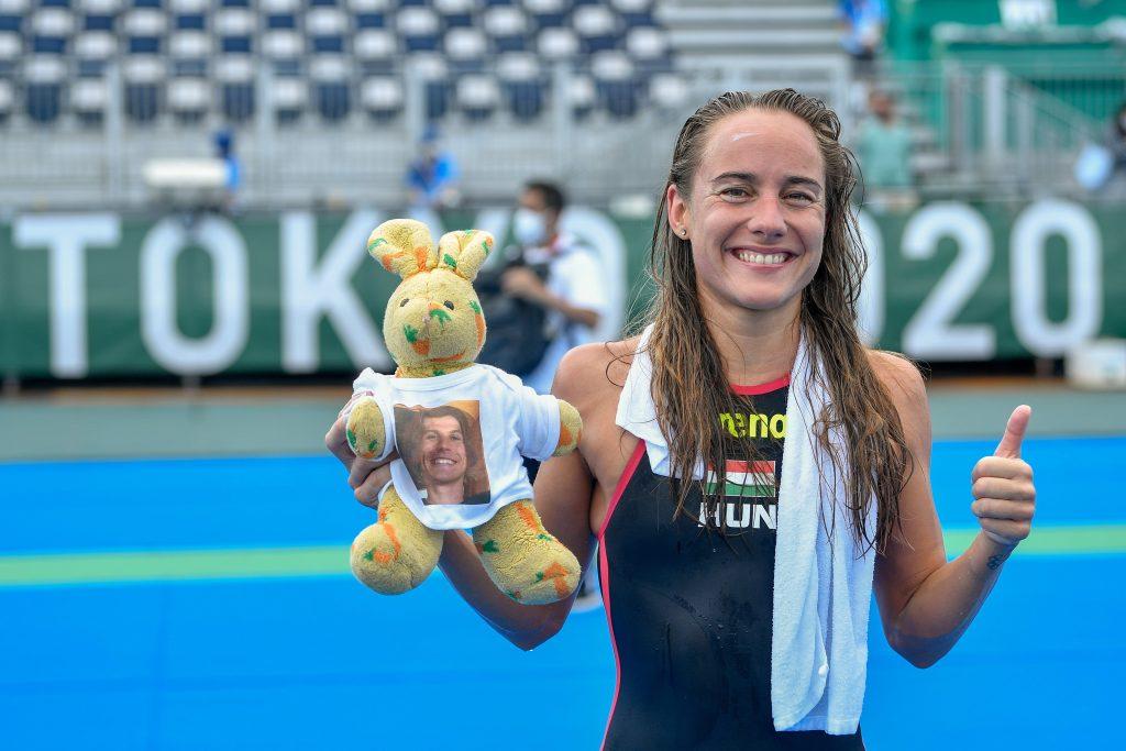 Tokio 2020: Anna Olasz wurde Vierte im 10 km Freiwasserschwimmen post's picture