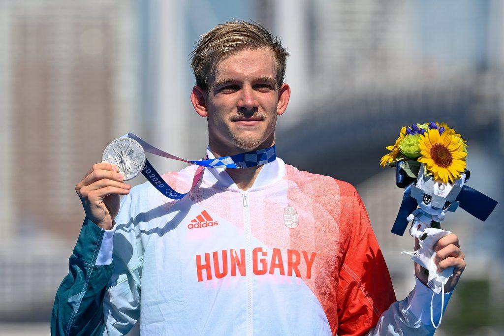 Tokio 2020: Kristóf Rasovszky gewinnt Silbermedaille im 10km Freiwasserschwimmen post's picture